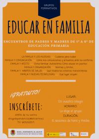 """Grupo formativos para padres y madres """""""