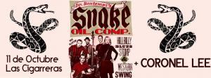 Dr. Bontempi's Snake Oil Company + Coronel Lee