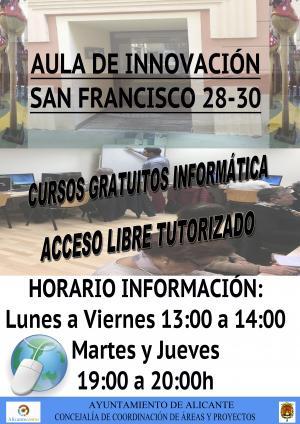 Cartel Aula Innovación