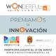 La inscripción se podrá realizar hasta el 21 de mayo en la web www.proyectowondreful.es