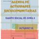 Agenda Actividades octubre 2019