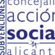 Subvenciones Servicios Sociales Ayto. Alicante