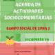 Agenda Actividades Zona Sur diciembre 2019