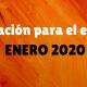 Formación para el Empleo Enero 2020