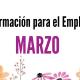 Formación para el Empleo Marzo 2020