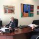 El concejal de Seguridad José Ramón González en reunión telemática con la Consellera de Justicia, Interior y Administración Pública Gabriela...