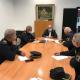 El concejal de Seguridad, José Ramón González, en reunión mantenida con los máximos responsables y comisarios de la Policía Local de Alicante
