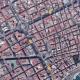 vista aérea de las calles de Alicante