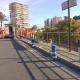 Actuación en Isleta Albufereta para evitar accidentes zona parada TRAM